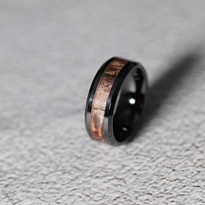 Black Ceramic Rings
